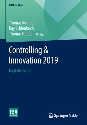 Controlling und Innovation, Digitalisierung, Erichsen, Springer
